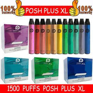 PLAN PLUS PLUS XL Dispositivo Vape Dispositivo Vape 1500puffs 650mAh Batería de alimentación PADS rellenos de vapor Vapor Desechable E Cigarrillos