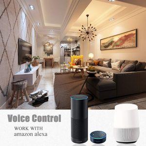 WiFi Downlight LED Downlight الذكية WiFi ضوء السقف التحكم في الصوت التحكم في التطبيق مع Google Home Alexa Echo Ifttt