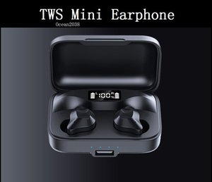 Wireless Headphones Bluetooth 5.0 Earphone TWS Mini In-ear Sports Running Headset Support iOS Android Phones HD Call