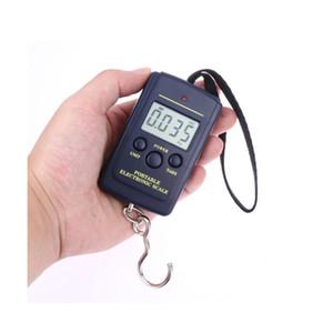40 KG Elektronik Ölçekli LED Ekran Kanca Bagaj Balıkçılık Taşınabilir Ölçek Taşınabilir Ev Elektronik Ölçekli Mutfak Aracı EEF4321