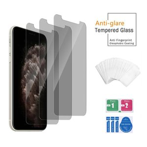 Tempered Glass Privacy Screen Protector Anti-Scratch Film Guard For iPhone 12 11 Pro Max XS XR X 8 7 6 6S Plus
