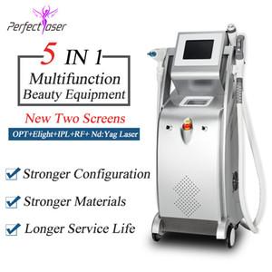 2020 nouvelle conception SHR verticale ipl épilation ipl peau RF elight machine de levage e machine détatouage laser Yag