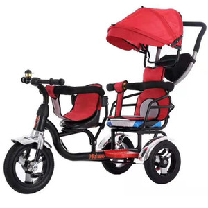 Beautiful Children Cheap Twin Baby Tricycle car tricycle bike