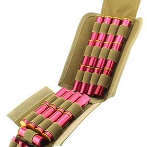 Depring MOLLE Tactical 25 giri Shotshell Pouch Holder compatto pieghevole Fucile Ricarica Munizioni Mag Bag di accesso rapido Shotgun Shell Carrier