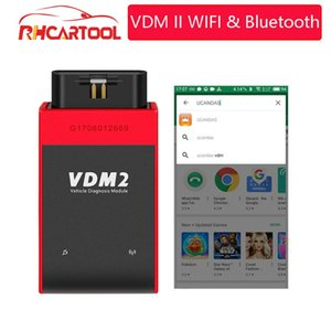 OBD2 UCANDAS VDM2 full systems Auto Diagnostic Scanner Newest V3.9 Wifi On Android VDM II update free Better than M diag