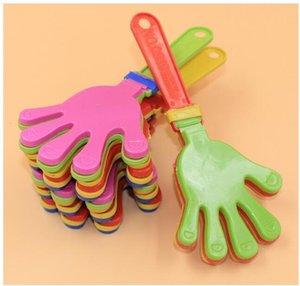 Eco -Friendly Plastikhand Clapper Clap Spielzeug Cheer Leading Clap für olympisches Spiel Fußballspiel Noise Maker Baby-Kind-Haustier-Spielzeug