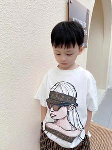 2021 Neue Kinder Jungen Mädchen Set Sommer Mode Baby Mädchen T-Shirt mit Pants Zweiteilige Anzug Kleidung