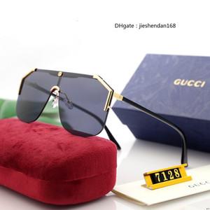 2020 Nuevas gafas de sol Gafas de alta gama Glasses Al aire libre Shade Shade PC Marco Moda Clásico Hombres y mujeres Gafas de sol General General Gafas de sol