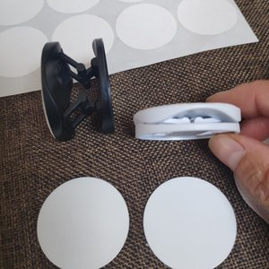 50pcs / LOT novo telefone suporte de plástico em branco Titular Sublimation Crafts transferência de calor Gancho Printing