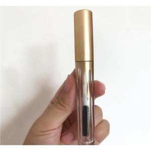 4ml 2.5ml Lipgloss Plastic Box Containers Empty Gold Lipgloss Tube Eyeliner Eyelash Container Mini Lip Gloss Spli jllMND sinabag