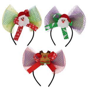 3adet Noel Cosplay Saç Hoop Prop Headdress Aydınlık Headband Giyinme