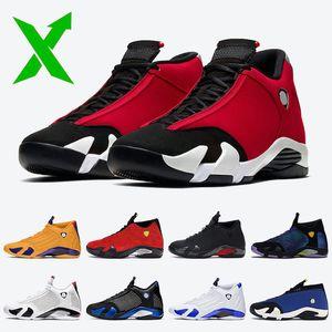 Nike Air Jordan 14 Retro 14 14s 2020 Szapatos Jumpman 14 Gimnasio Rojo para hombre de la X 14s basketballl Hyper Royal entrenadores deportivos zapatillas de deporte