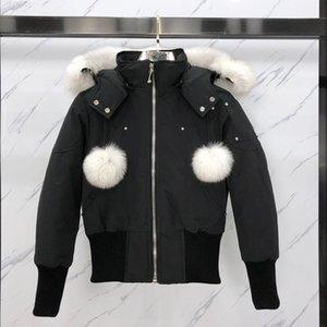 Giù Parka Inverno Giacca superiore Nuovo arrivo Canada Women Coat Arctic Parka Navy nero cappuccio Outdoor Hiver Manteau Doudoune
