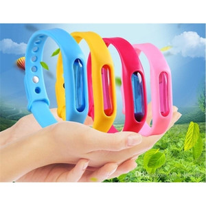 20pcs Anti Mosquito Pest Insect Bugs Repellent Repeller Wrist Band Bracelet Wristband Protection mosquito Deet-free non-toxic Safe Bracelet