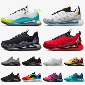 nike air max 720 max air 720 nike 720 818 Mulheres Homens Running Shoes Universidade Worldwide Branco Prata metálica Cinza Preto esportes vermelho Formadores Sneakers