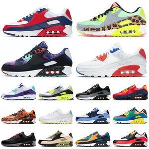 nike air max 90 airmax 90s Camo Premium SE Laufschuhe Männer Frauen Herren Trainer Sport Outdoor Sneakers