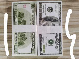 Nuevo dólares estadounidenses Hot Sales Fake Money Movies Movies PROP 20 50 100 DOLLARS Billete de billete Contando Prop Money Festive Fiesta Fiesta Juegos Recolección Regalos