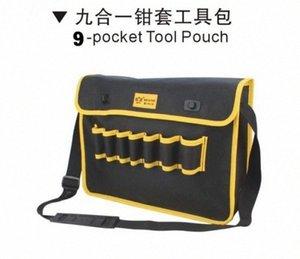 Canlan Tayvan oxford karmaşık malzeme PVC 600D dayanıklı cep alet çantasını yapılan NO.05155 Riva #