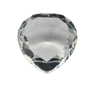 الحزب صالح واضح القلب القلب الوزن الأوجه قطع الزجاج حجر الماس الهدايا مجوهرات الماس للضيوف