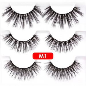 Newest Magnetic Eyelashes with Eyeliner and Tweezer 3 Pairs 5 Magnetic False Eyelashes Liquid Eyeliner Reusable Eyelash No Glue Needed
