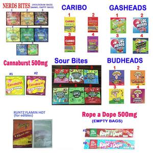 710 Edibles Candy упаковка кислые укусы лекарственные Nerds Caribo веревка на пакеты упаковочные пакеты Dope