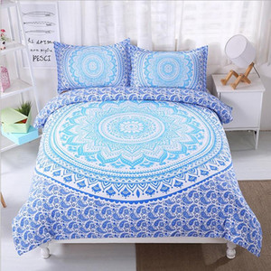 FANAIJIA bohemian bedding sets boho printed 3d Mandala duvet cover set 3pcs Pillowcase full super king size Bedlinen