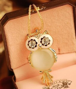 Necklaces Pendant for Women Shape Eye Owl Pendant Necklace Long Chains Necklace Pendant