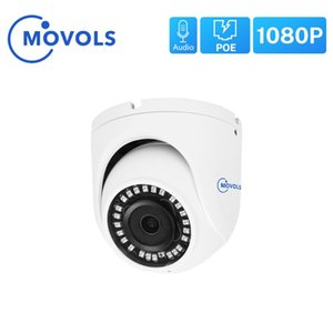 MOVOLS 1080P H.265 الأمن POE كاميرا IP للماء 2.8MM الصوت CCTV كاميرا دووم الرئيسية مراقبة ONVIF لنظام NVR