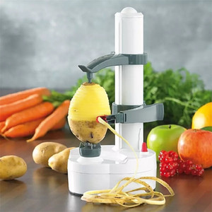 ZK30 Multifunction Electric Peeler For Fruit Vegetables Automatic Stainless Steel Apple Peeler Kitchen Potato Cutter Machine 201201
