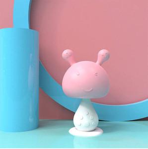 Safe Baby Silicone Teethers Training Toothbrush Infant Mushroom Cartoon Shape Teethers Chewing Newborn Baby Teething Period