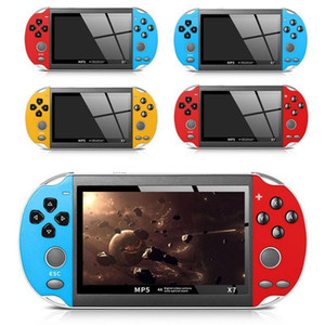 New Handheld Game Console 4.3 Inch Screen MP4 Player Video Games Retro Real 8GB Support For Game Camera Video Gamepad
