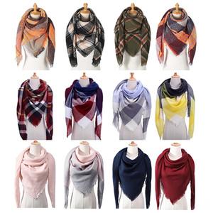 Зима новая мода кашемировый шарф женские шарф плед одеяло новый дизайнер треугольник шаль и шарф 140 * 140 * 190см gxy002