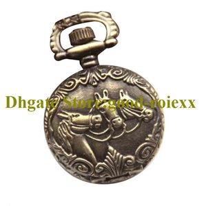 Antike Vintage TEED Damen Männer Taschenuhr Halskette Zubehör Pullover Kette Damen Hängende Herren Taschenuhren AA00176