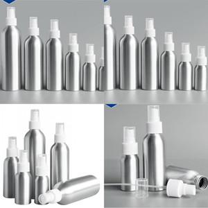 الألومنيوم رذاذ زجاجة زجاجة معدنية خالية من الزجاجات الجميلة ضباب مضخة حاوية مستحضرات التجميل 30ML 50ML 100ML 150 ملليلتر 250 ملليلتر 500 متر 96 J2