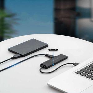 Vention USB HUB 2.0 HUB Multi USB Splitter Adapter 4 Ports Speed with Micro USB Charging Port for PC Laptop
