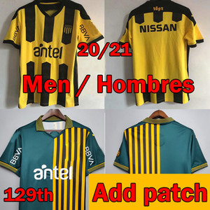 2020 2021 Aruguay Penarol Soccer Jersey 129th Tommorative Edition 20 21 Club Atlético Peñarol New Home C.Rodriguez F.Torres كرة القدم قميص