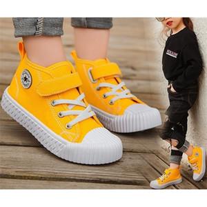Детям холст мальчиков кроссовки для девочек Девушки Теннисная обувь Детская обувь малыш осень Весна Чассуре Zapato повседневная Sandq Baby 1029