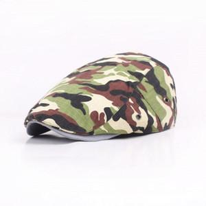 Camouflage Chapeau Béret Brim Hommes Taobao Hot vente Forward Cap Outdoor Voyage Style d'université Beret Femmes