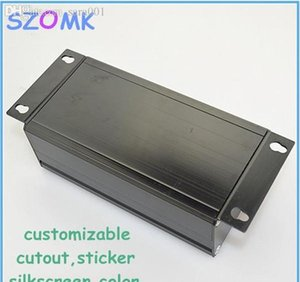 Wholesale-1 Piece Free Shipping 45x65x120 Mm Aluminum Extrusion Electronics Box , Diy Project bbyqzA hotclipper