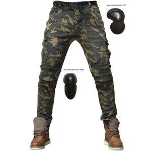 Lo nuevo caliente venta Uglybros Motorpool Ubs06 Jeans Jeans de ocio de la motocicleta pantalones de pantalones locomotora de motor Ejército