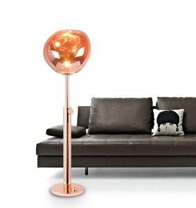 Modern Art Melt Floor Lamp Creative Home Bedroom Living Room Lava Vertical Standing Light Decoration Fixture