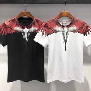 Свободный транспорт высококачественных хлопковых футболок летом, 2021, европейская и американская футболка с короткими рукавами мода и повседневная напечатана M175