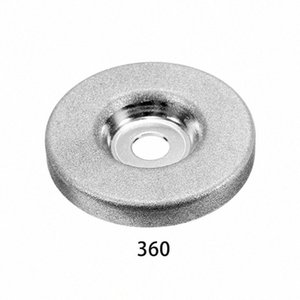 1шт 56мм 180/360 Grit алмазный шлифовальный круг Grinder камень точилка Угол резки колеса Роторный инструмент Opkd #