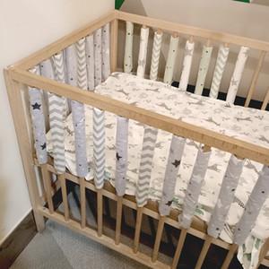 12шт детская кроватная кроватка бампер новорожденных бамперы младенческой безопасной забор линии bebe кроватки протектор унисекс новорожденных бамперов q0111