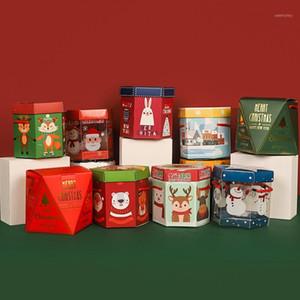 Caja de regalo de Navidad Caja de Navidad Eve Regalo Envoltura Bandeja Apple Box Regalos Niños Dulces 8pcs / 10pcs / 12pcs / 20pcs1