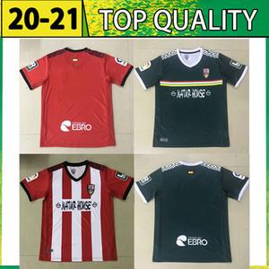 20 21 Ud Logroñés Jerseys de futebol Andy Inaki errasti Zelu Vitória 2021 Logrones Camisetas de Fútbol Tailândia Camisa de Futebol
