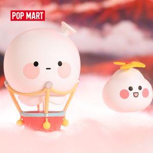 Pop Mart Bobo y Coco Wanderlust Series Pop ArtToys Figura acción Caja ciega Kawaii Toy Sweet Lindo Regalo Niños Juguete 201202