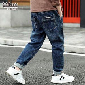 Vestiti per bambini Ragazzi 'Jeans primavera e autunno 2020 dei nuovi bambini di riparazione Jeans Autunno Corpo edizione coreana del Medio Boy Jeans