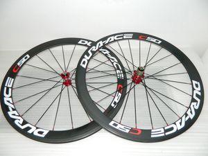 Le vendite Dura Ace C50 ruote della bici del carbonio 50mm full carbon le sale montate bordo di carbonio ruote