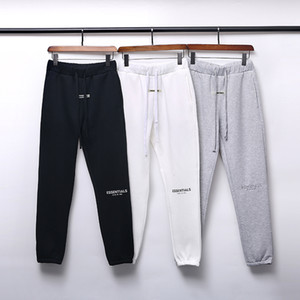 Pantaloni Designer Designer da 19FW Pantaloni da strada High Street Pantaloni Joggers For Men Riflettente Sweatpants Casual Mens Hip Hop Streetwear Asian Size